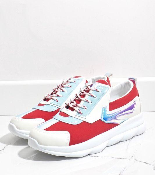 Białe sneakersy sportowe damskie W-3112 41 zdjęcie 5