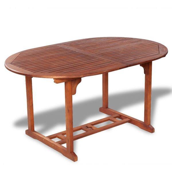 Stół Stolik Ogrodowy Na Taras Balkon Drewniany Rozkładany