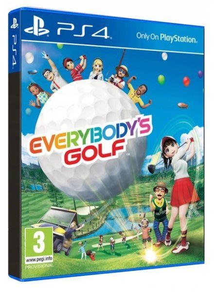 Everybodys Golf PL PS4 zdjęcie 2