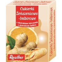 Reutter Cukierki Żeńszeniowo - Imbirowe 50 G