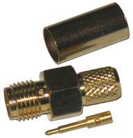 WTY0601 Wtyk SMA-RP H155 (pin męski) zaciskany złoty