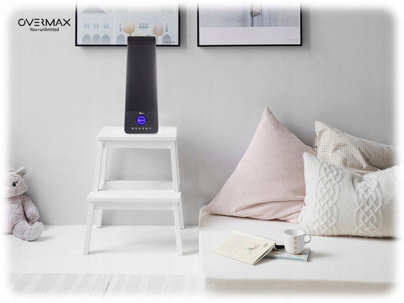 Nawilżacz  powietrza Overmax Aeri 4.0 Higrometr LCD 6,5 l na Arena.pl