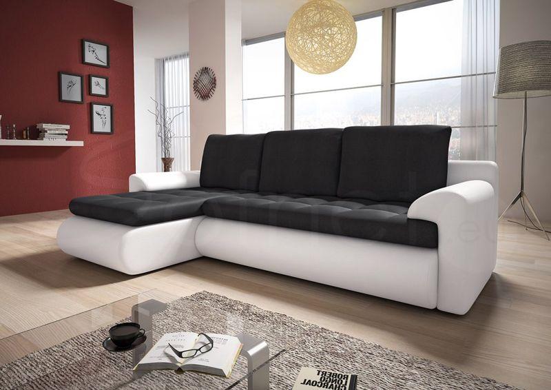 Narożnik Santi II w materiale zmywalnym - kanapa, sofa, łóżko, rogówka zdjęcie 7