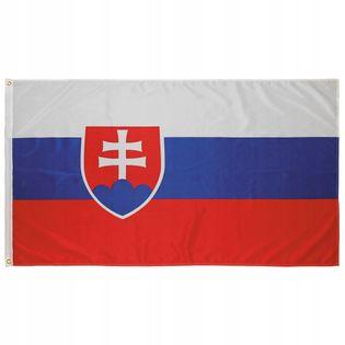 Flaga na maszt 90 x 150 cm Słowacja