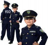 POLICJANT Amerykański USA Strój KARNAWAŁOWY 128