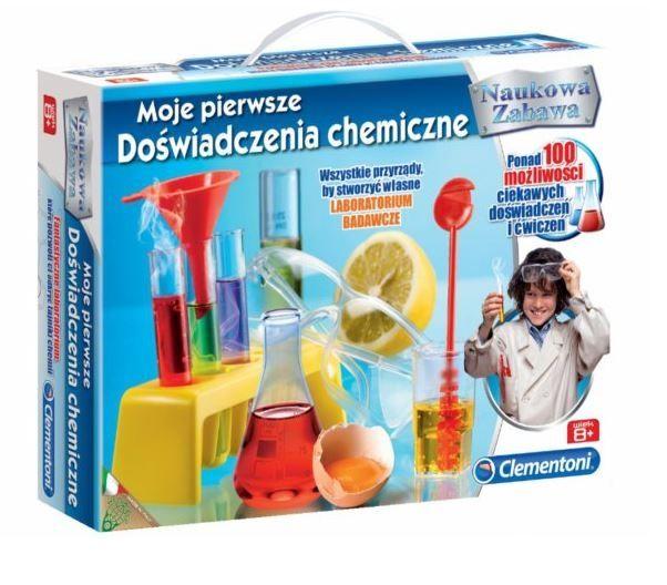 MOJE PIERWSZE DOŚWIADCZENIA CHEMICZNE zdjęcie 1