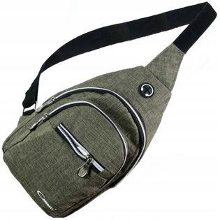 Saszetka nerka przez ramię na pierś torba plecak
