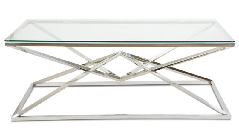 Stolik kawowy ława stół blat szkło hartowane zdjęcie 3