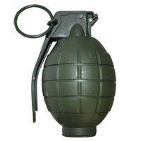 zielony GRANAT z dźwiękiem wybuchu GADŻET wojskowy