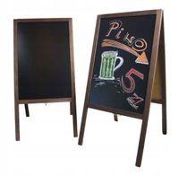 Potykacz reklamowy Brąz stojak tablica kredowa 120