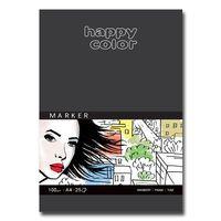Blok do markerów A4 HAPPY COLOR 100g 25 kartek