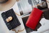 Czerwony damski portfel skóra naturalna BELVEDER w pudełku zdjęcie 7