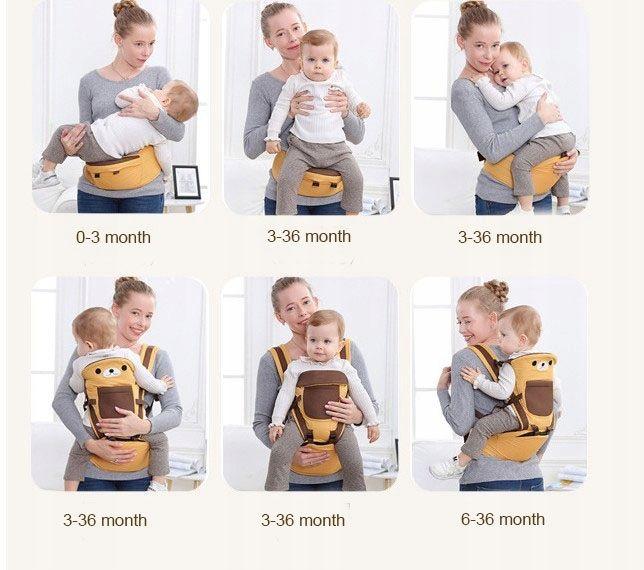 Nosidełko dla dzieci ergonomiczne SIEDZISKO 8w1 na Arena.pl