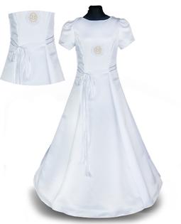 Sukienka komunijna ALBA dla dziewczynki komunia al1 Wika Producent 158