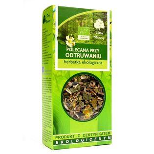 Herbatka Polecana przy Odtruwaniu Eko 50G Dary Natury