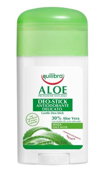 Equilibra Aloe Gentle Deo-Stick Aleosowy Dezodorant Sztyft 50Ml na Arena.pl
