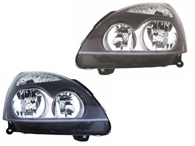 Depo Reflektory Lampy Przód Renault Clio Ii 01 05 2 Szt