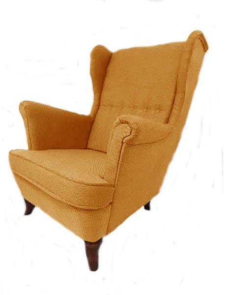 Fotel Uszak Skandynawski - stylowy design zdjęcie 1