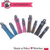 FUNKY - zabawka, aport sztruks wybierz rozmiar - M : 17 x 5 cm, Kolor - szary i fuksja