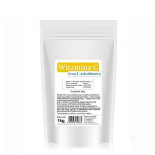 Witamina C (Kwas L-askorbinowy) 1 kg VitaFarm