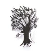 Broszka srebrna Drzewo
