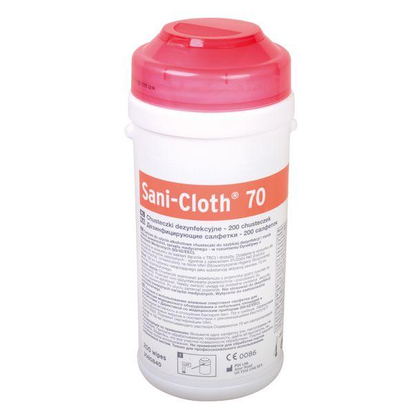 Sani-Cloth 70 chusteczki alkoholowe do dezynfekcji Ecolab 200szt. Tuba zdjęcie 1