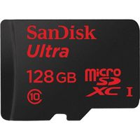 Karta pamięci SANDISK ULTRA microSDXC 128GB 100MB/s A1 Cl.10 UHS-I + ADAPTER