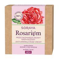 Soraya Rosarium 40+ Przeciwzmarszczkowy Krem Różany Do Twarzy Na Dzień/na Noc 50Ml