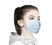 Higieniczna 3-warstwowa maska ochronna, maseczka antywirusowa 1 szt. zdjęcie 4