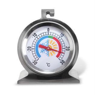Termometr do lodówki / zamrażarki stalowy