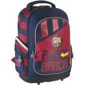 Trzykomorowy plecak dla chłopca fc barcelona barca fan 4  Astra