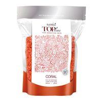 ItalWax Top Formula Coral Film wax - hipoalergiczny niskotemperaturowy wosk koral do skóry wrażliwej w granulkach dropsach do depilacji bezpaskowej 750 gram