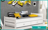Łóżko BARTEK COLOR 90x200 szuflady + materac