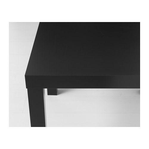 Ikea Lack ława Stolik Kawowy 55x55 Cm Czarny Mat