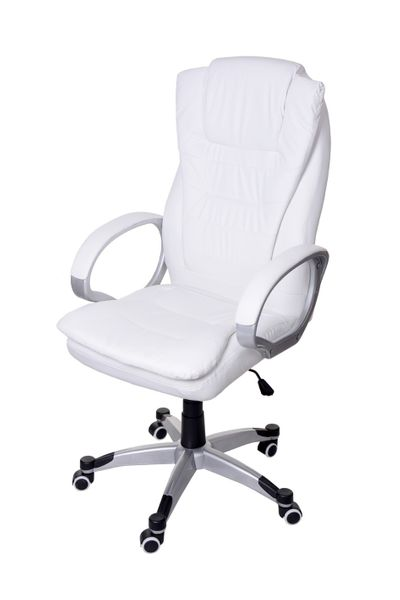 Fotel biurowy GIOSEDIO biały,model BSU002 zdjęcie 3