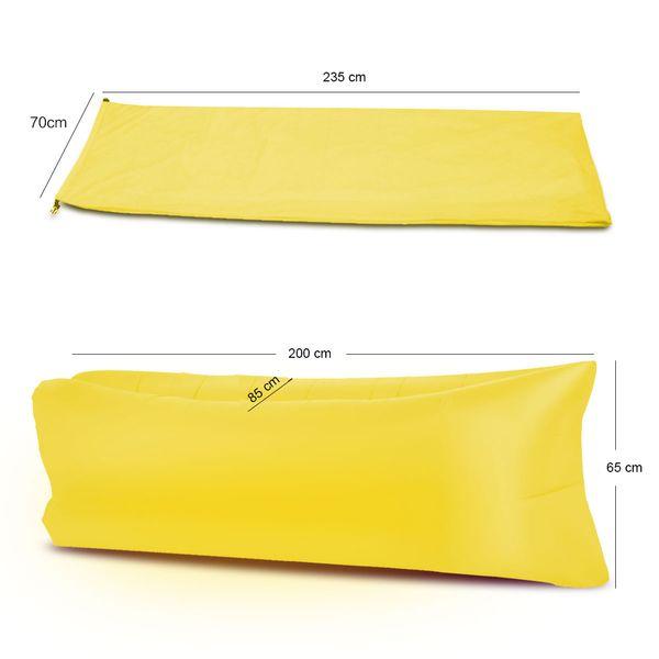 Lazy bag air sofa materac leżak łóżko 9 kolorów zdjęcie 8