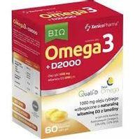 Xenicopharma Omega 3 D3 2000  60 Kaps.