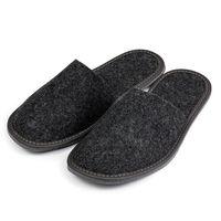 Kapcie pantofle FILCOWE męskie dla gości i do domu