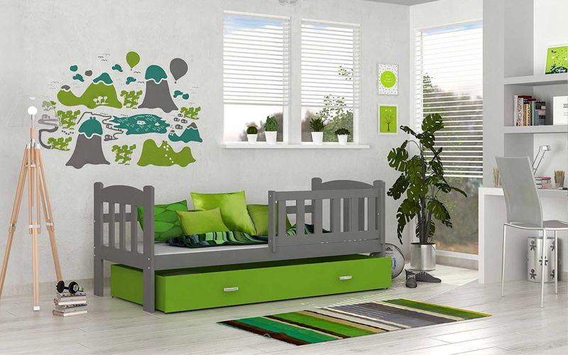 łóżko Dla Dzieci Tedi Color 70x160 Materac Bez Szuflady