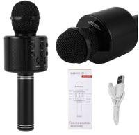 Mikrofon bezprzewodowy Bluetooth Głośnik Karaoke CZARNY G242B