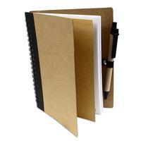 Notes notatnik z długopisem A7 w linie ekologiczny z recyklingu 70 kartek UC1910911