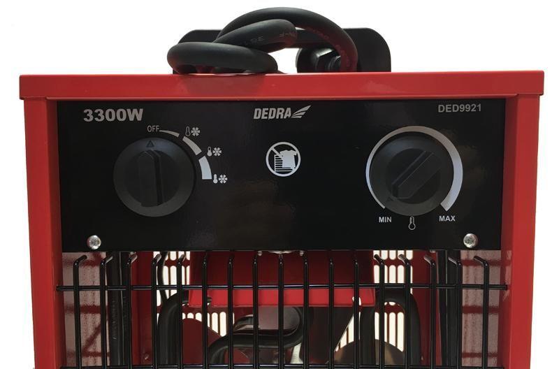 Nagrzewnica elektryczna 3,3 kW Dedra DED9921 zdjęcie 4
