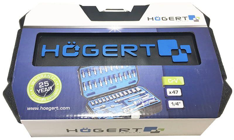 Zestaw narzędzi 46 szt. Hogert HT1R416 na Arena.pl