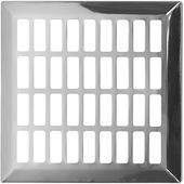 Kratka wentylacyjna 14x14 nierdzewna prosta metalowa