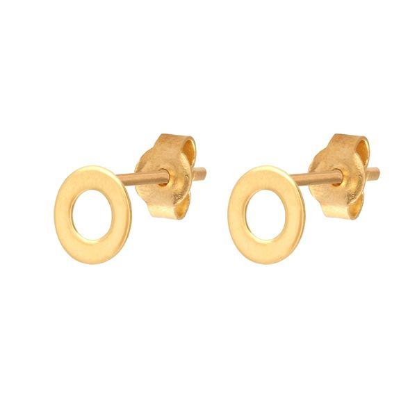 kolczyki złote Celebrytka kółeczka zdjęcie 1