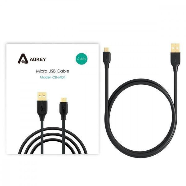 AUKEY CB-MD1 Black szybki kabel Quick Charge micro USB-USB   1m   5A   480 Mbps zdjęcie 6