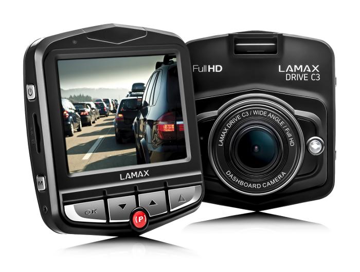 Lamax Drive C3 Rejestrator jazdy trasy 32GB karta zdjęcie 1