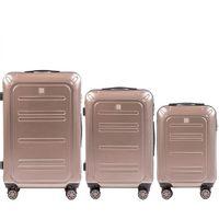 Zestaw 3 walizek KEMER WINGS PC175 Brązowe