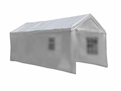 Dach do pawilonu 4x8 m biały PE