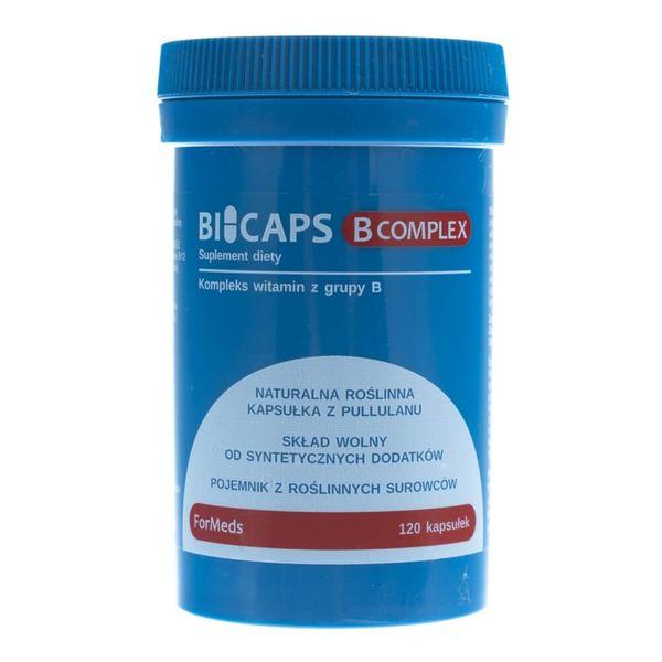 Formeds Bicaps B-Complex - 120 kapsułek zdjęcie 1